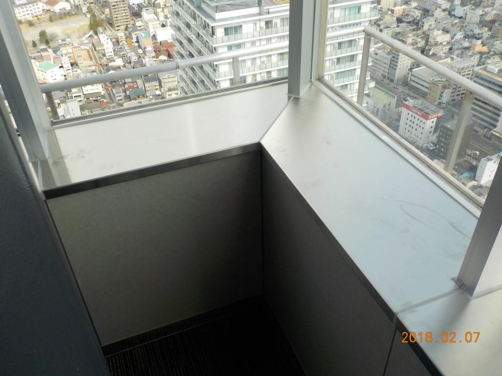 43階 ステンレス面台 (4)